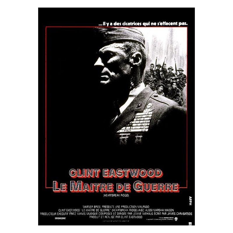 Affiche Le Maître de Guerre (Clint Eastwood)