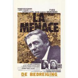 Affiche La Menace (de Alain Corneau)
