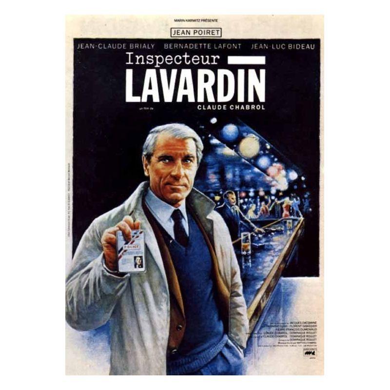 Affiche Inspecteur Lavardin (de Claude Chabrol)