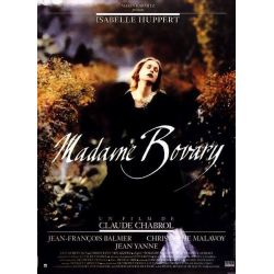 Affiche Madame Bovary (de Claude Chabrol)