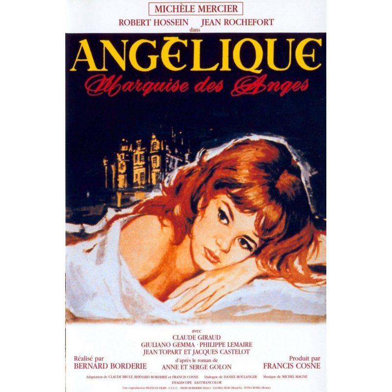 Affiche Angélique, Marquise des Anges  (avec Michèle Mercier & Robert Hossein)