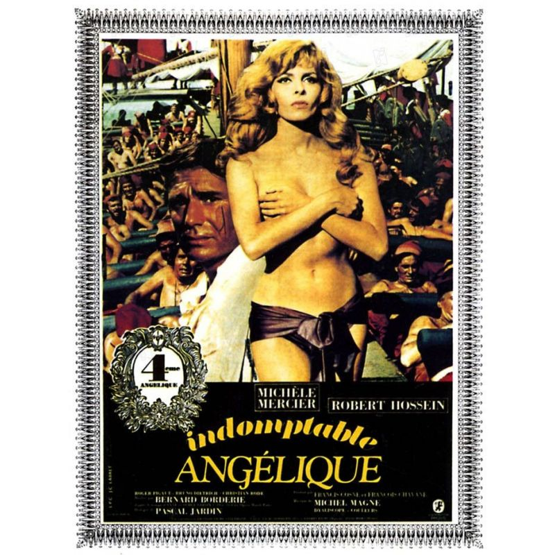 Affiche Indomptable Angélique (avec Michèle Mercier & Robert Hossein)