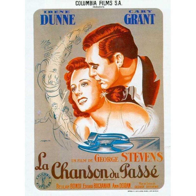 Affiche La Chanson du passé (de George Stevens)