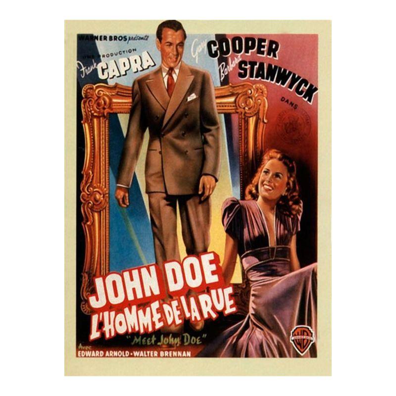 Affiche L'Homme de la Rue (de Frank Capra)