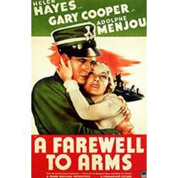 Affiche L'Adieu aux Armes (de Frank Borzage)