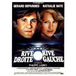 Affiche Rive Droite, Rive Gauche (de Philippe Labro)