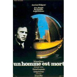 Affiche Un Homme est Mort (de Jacques Deray)
