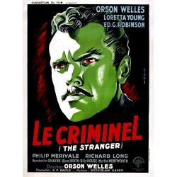 Affiche Le Criminel (de Orson Welles)