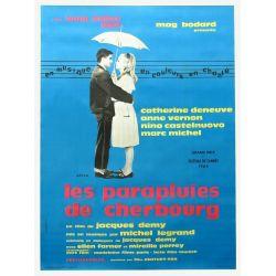 Affiche Les Parapluies de Cherbourg  (de Jacques Demy)