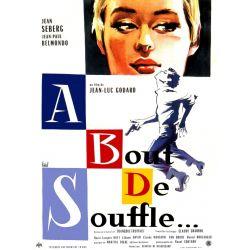 Affiche A Bout de Souffle (de Jean-Luc Godard)
