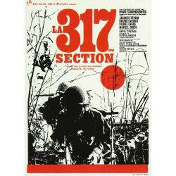 Affiche  La 317e section (de Pierre Schoendoerffer)