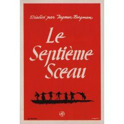 Affiche Le Septième Sceau (de Ingmar Bergman)