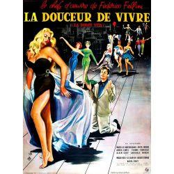 Affiche La Dolce Vita (de Federico Fellini)