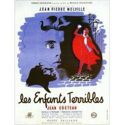 Affiche Les Enfants Terribles (de Jean-Pierre Melville)