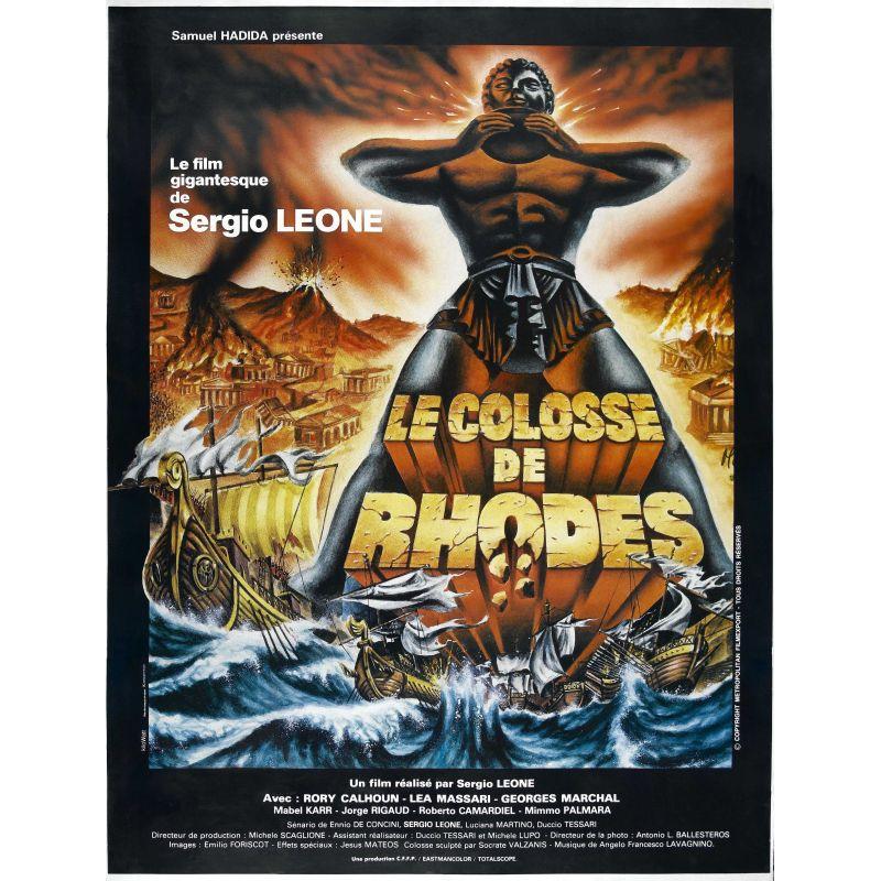 Affiche Le Colosse de Rhodes (Sergio Leone)