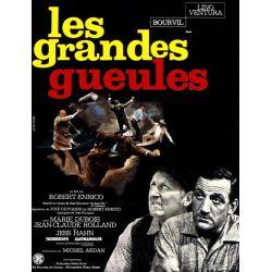 Affiche Les Grandes Gueules (de Robert Enrico)