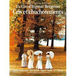 Affiche Cris et Chuchotements (de Ingmar Bergman)