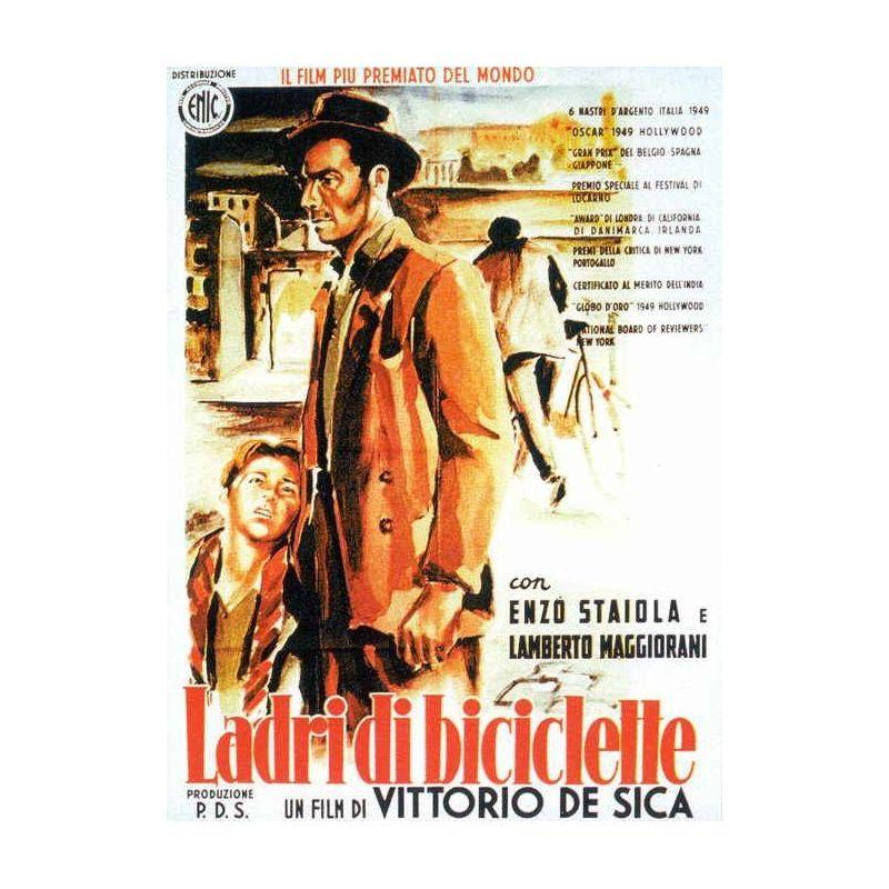 Affiche Le Voleur de Bicyclette (de Vittorio De Sica)