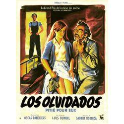 Affiche Los Olivados (de Luis Bunuel)
