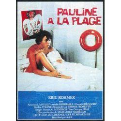 Affiche Pauline à la Plage (de Eric Rohmer)