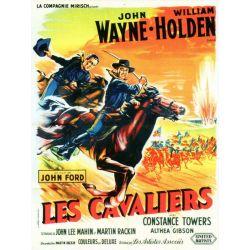 Affiche Les Cavaliers (John Wayne)