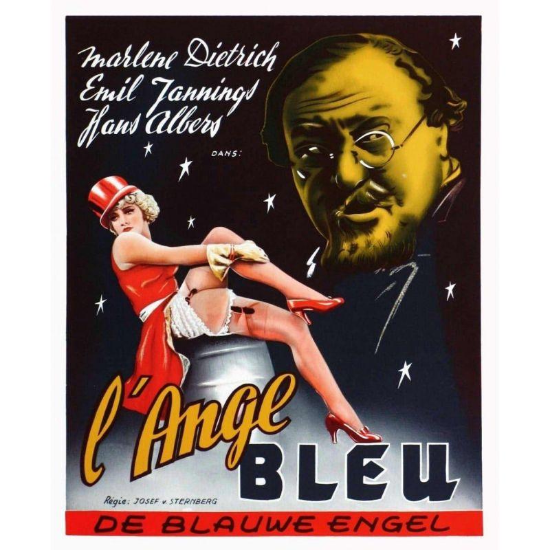 Affiche L'Ange Bleu (de Josef von Sternberg)