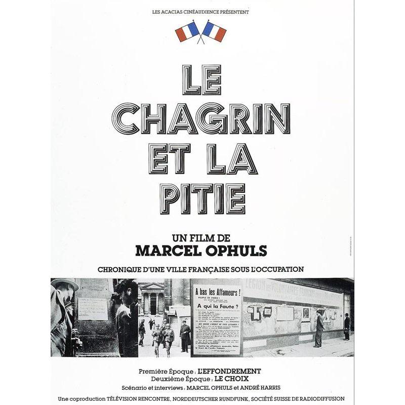 Affiche Le Chagrin et la Pitié (de Marcel Ophuls)