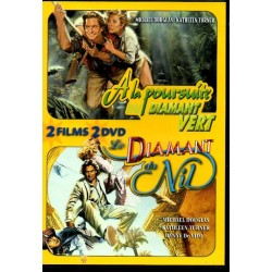 A la Poursuite du Diamant Vert & Le Diamant du Nil - Double DVD Zone 2