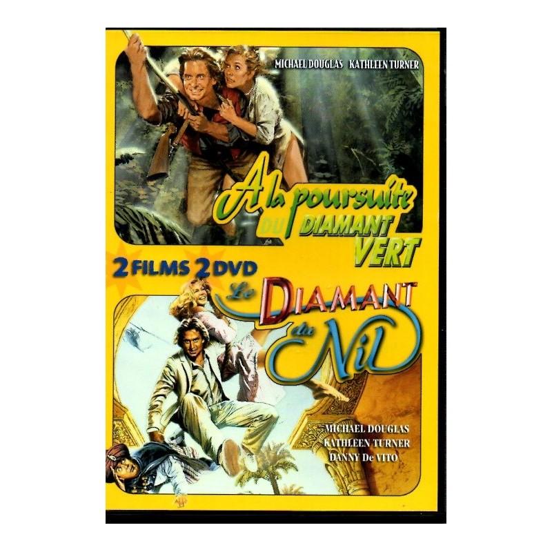A la Poursuite du Diamant Vert & Le Diamant du Nil - Double DVD Zone 2
