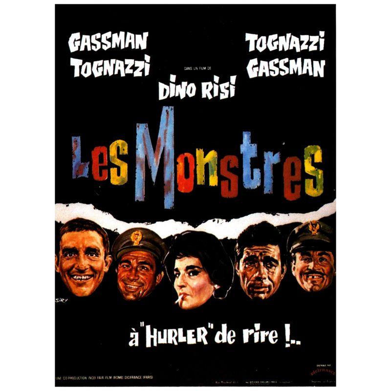 Affiche Les Monstres (de Dino Risi)