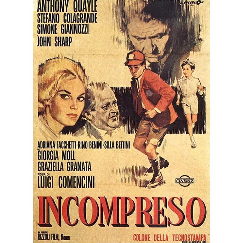 Affiche L'Incompris (de Luigi Comencini)