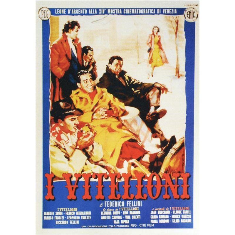Affiche I Vitelloni (de Federico Fellini)