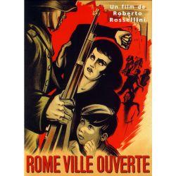 Affiche Rome, Ville ouverte (de Roberto Rossellini)