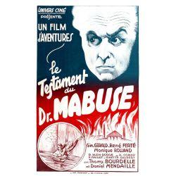 Affiche Le Testament du Docteur Mabuse (de Fritz Lang)