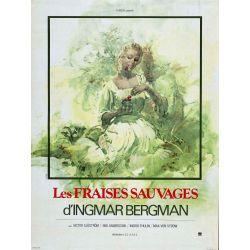 Affiche Les Fraises Sauvages (de Ingmar Bergman)