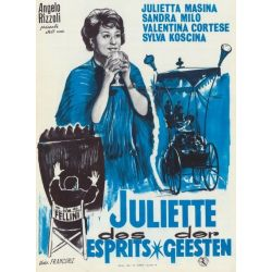 Affiche Juliette des Esprits (de Federico Fellini)