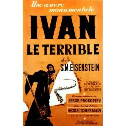 Affiche Ivan le Terrible (de S.M. Eiseinstein)