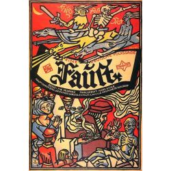 Affiche Faust (de Friedrich Wilhelm Murnau)