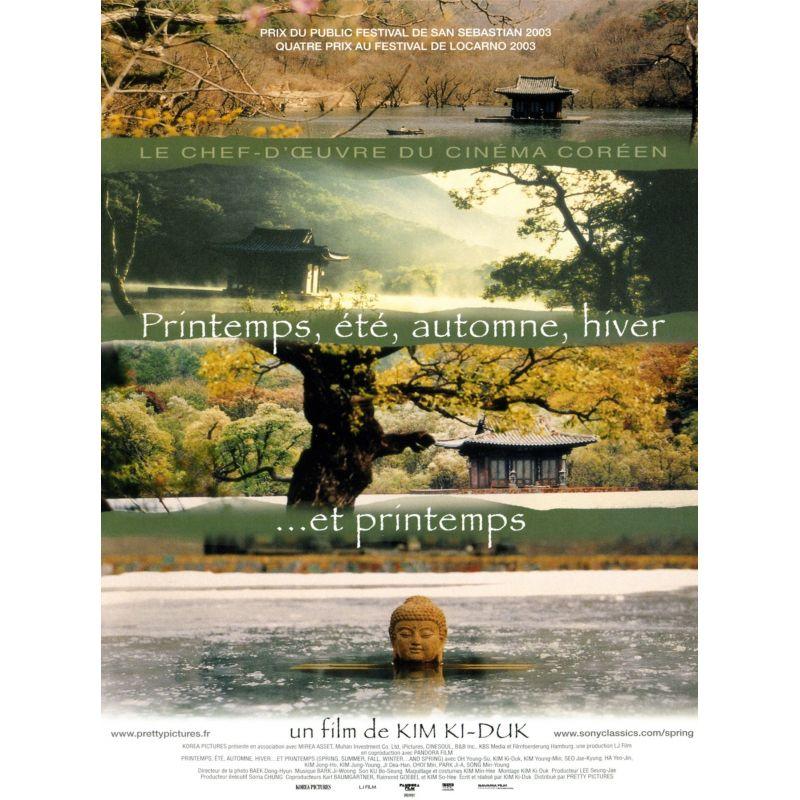 Affiche Printemps, été, automne, hiver ... et printemps (de Kim Ki-Duk)