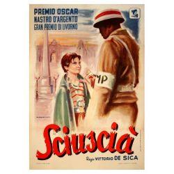 Affiche Sciuscià (de Vittorio De Sica)