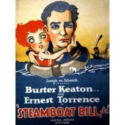 "Affiche Cadet d'eau douce (""Steamboat Bill Jr."") (de Charles Reisner)"