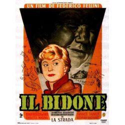 Affiche Il Bidone  (de Federico Fellini)