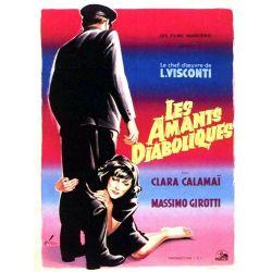 Affiche Les Amants Diaboliques (de Luchino Visconti)
