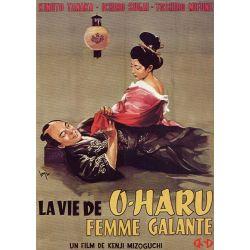 Affiche La Vie d'O'Haru, femme galante (de Kenji Mizoguchi)