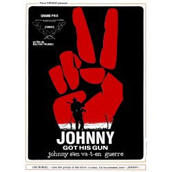 Affiche  Johnny Got His Gun - Johnny s'en va-t-en guerre (de Dalton Trumbo)