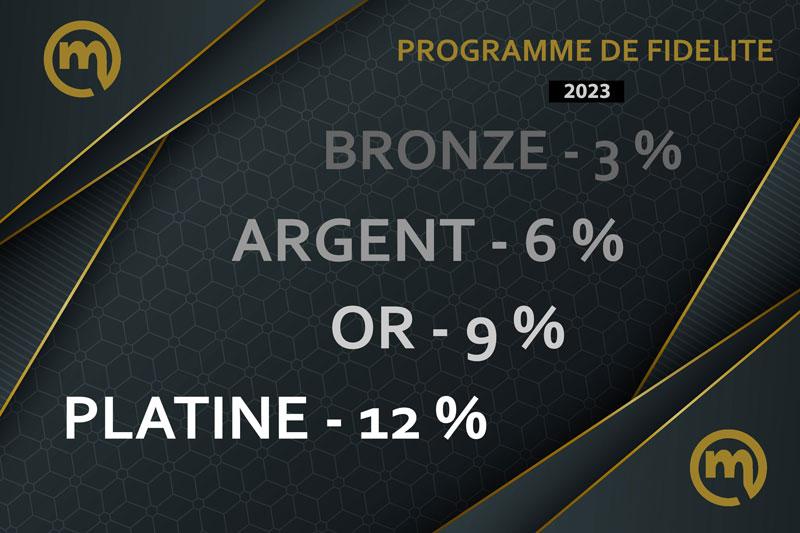 Programme de Fidélité m-boutique.fr