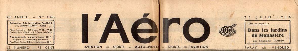 Aéro (L')