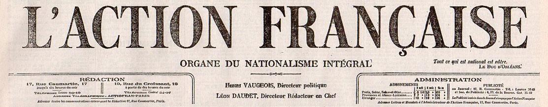 Action Française (l')