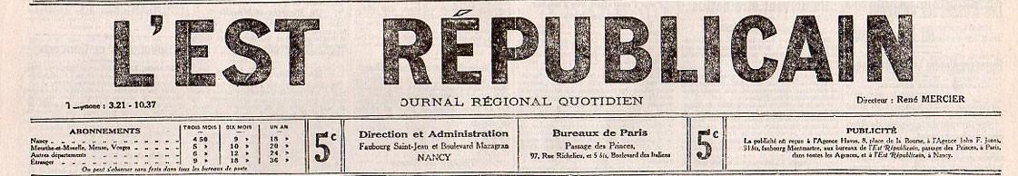 Est Républicain (L')