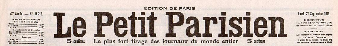 Petit Parisien (Le)